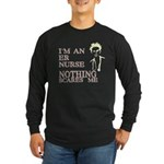 ER Nurse Long Sleeve Dark T-Shirt