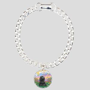 Guardian-BlackCocker Charm Bracelet, One Charm
