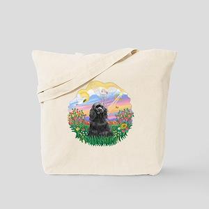 Guardian-BlackCocker Tote Bag