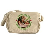 A Very Merry Unbirthday To You Messenger Bag