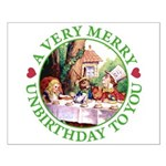 A Very Merry Unbirthday To You Small Poster