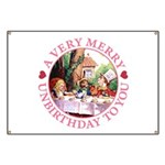 A Very Merry Unbirthday To You Banner