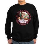 A Very Merry Unbirthday To You Sweatshirt (dark)