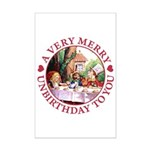 A Very Merry Unbirthday To You Mini Poster Print