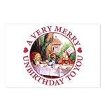 A Very Merry Unbirthday To You Postcards (Package