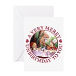 A Very Merry Unbirthday To You Greeting Card