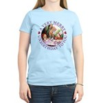 A Very Merry Unbirthday To You Women's Light T-Shi