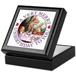A Very Merry Unbirthday To You Keepsake Box