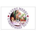 A Very Merry Unbirthday To You Large Poster
