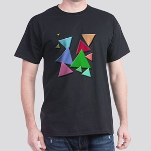Falling Triangles Dark T-Shirt