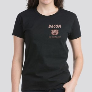 Bacon - Vegan Women's Dark T-Shirt