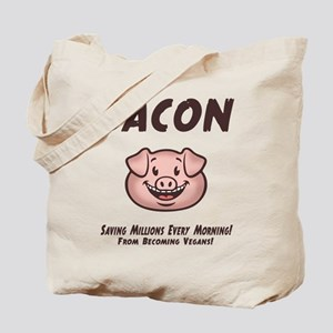 Bacon - Vegan Tote Bag