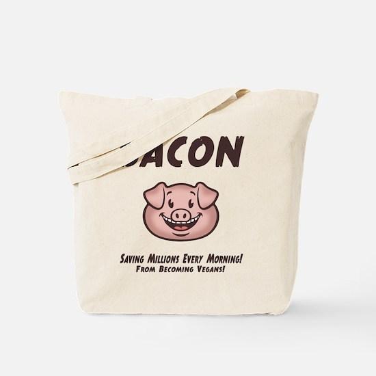 Bacon - Vegan Tote Bag