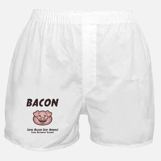 Bacon - Vegan Boxer Shorts