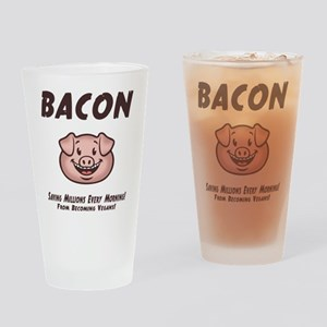 Bacon - Vegan Drinking Glass