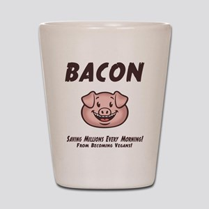 Bacon - Vegan Shot Glass