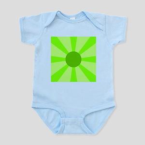 Green Rays Infant Bodysuit