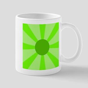 Green Rays Mug