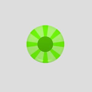 Green Rays Mini Button