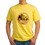 We're All Quite Mad Yellow T-Shirt