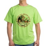 We're All Quite Mad Green T-Shirt
