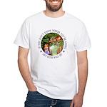 Any Path Will Do White T-Shirt