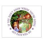 Any Path Will Do Small Poster