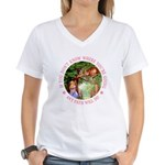 Any Path Will Do Women's V-Neck T-Shirt