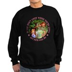 Any Path Will Do Sweatshirt (dark)