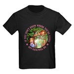 Any Path Will Do Kids Dark T-Shirt