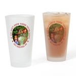 Any Path Will Do Drinking Glass