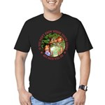 Any Path Will Do Men's Fitted T-Shirt (dark)