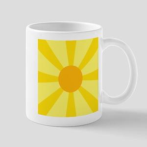 Yellow Rays Mug