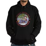 We're All Mad Here Hoodie (dark)