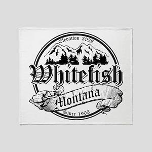 Whitefish Old Circle 2 Throw Blanket