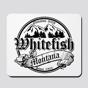 Whitefish Old Circle 2 Mousepad