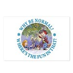 Why Be Normal? Postcards (Package of 8)