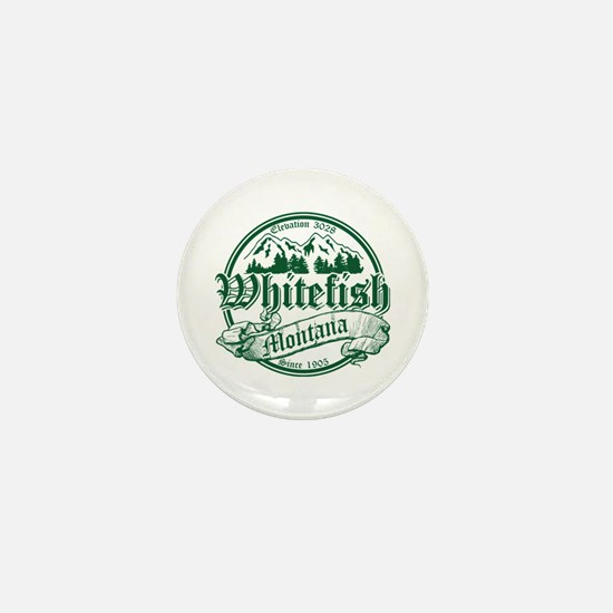 Whitefish Old Circle 2 Mini Button