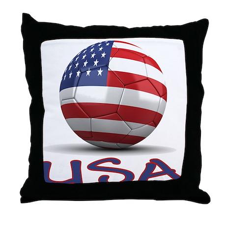 Team USA Throw Pillow