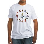 All Around Alice Fitted T-Shirt