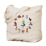All Around Alice Tote Bag