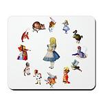 All Around Alice Mousepad