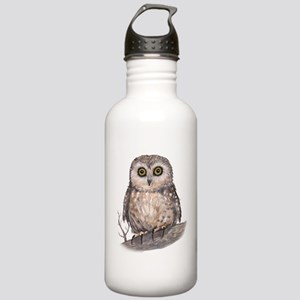 Wide Eyed Owl Stainless Water Bottle 1.0L