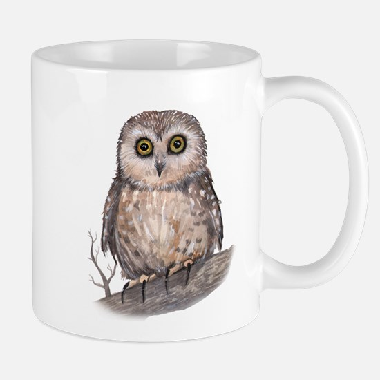 Wide Eyed Owl Mug