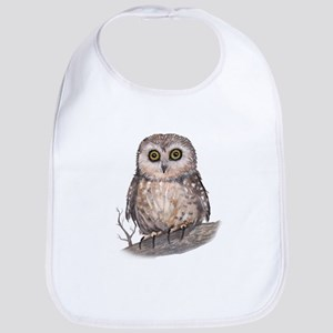 Wide Eyed Owl Bib