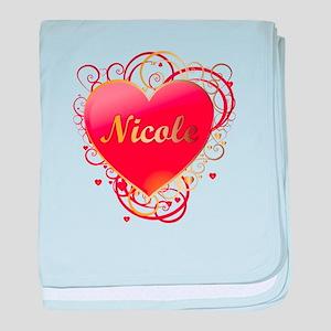Nicole Valentines baby blanket