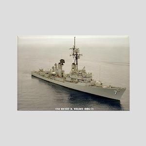 USS HENRY B. WILSON Rectangle Magnet