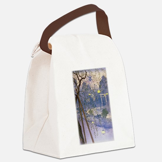 Willow Tree.jpg Canvas Lunch Bag