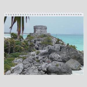 Yucatan Peninsula, Mexico, Wall Calendar