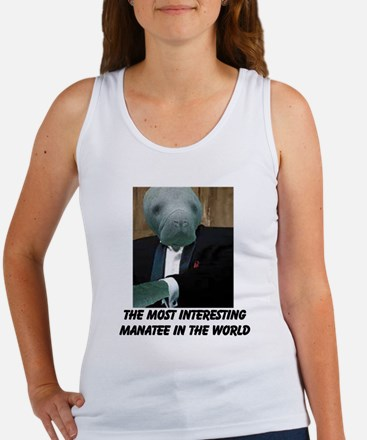 Cute The most interesting man in the world Women's Tank Top